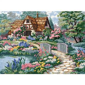 Dimensions  Cottage Retreat - Needlepoint Kit