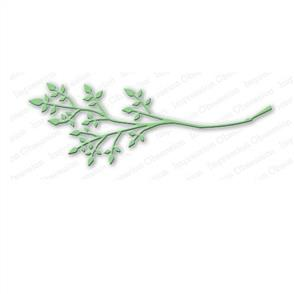 Impression Obsession  Dies - Leafy Branch