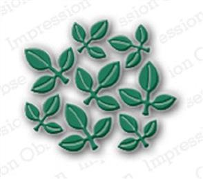 Impression Obsession  Dies - Leaf Cluster
