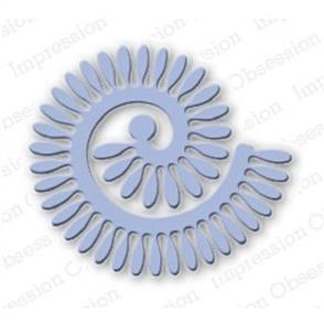 Impression Obsession  Dies - Spiral Daisy