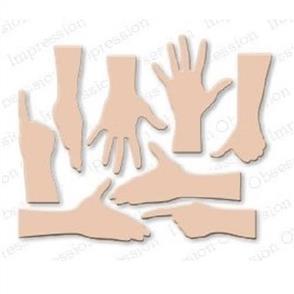 Impression Obsession  Dies - Hand Set