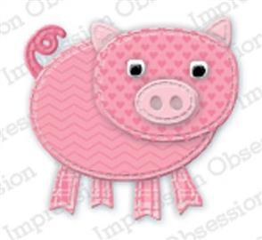 Impression Obsession  Dies - Patchwork Pig