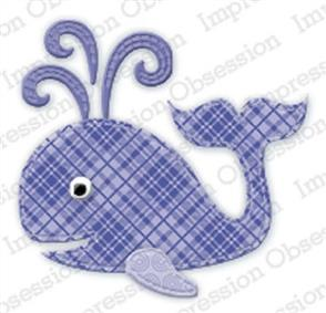 Impression Obsession  Dies - Patchwork Whale