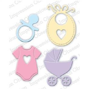 Impression Obsession Dies - Baby Set