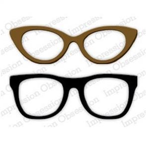 Impression Obsession  Dies - Lg. Glasses