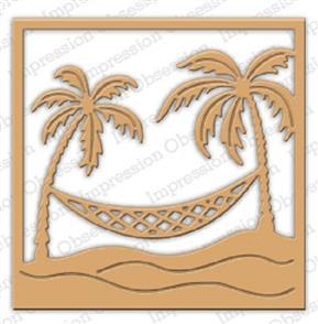 Impression Obsession  Dies - Palm Trees & Hammock