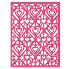 Impression Obsession  Dies - Lacy Hearts