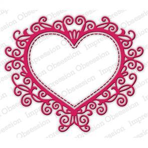 Impression Obsession  Dies - Flourish Heart