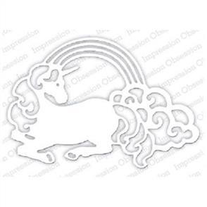 Impression Obsession  Dies - Rainbow Unicorn