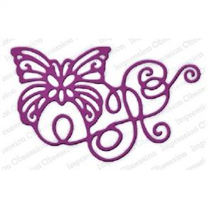 Impression Obsession  Dies - Ribbon Butterfly