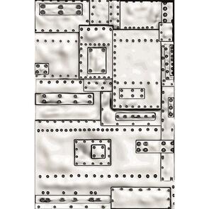 Sizzix Tim Holtz 3-D Embossing Folder - Mini Foundry