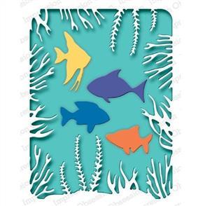 Impression Obsession  Dies - Sea Life Frame
