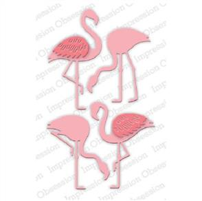 Impression Obsession  Dies - Flamingo Set