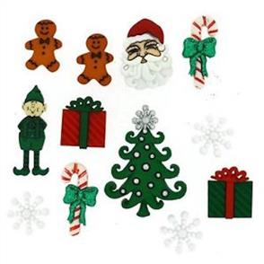 Dress It Up Embellishments - Christmas