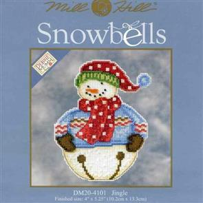 Mill Hill  Bead & Cross Stitch Kit: Snowbells Jingle