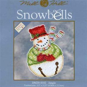 Mill Hill  Bead & Cross Stitch Kit: Snowbells Jangle