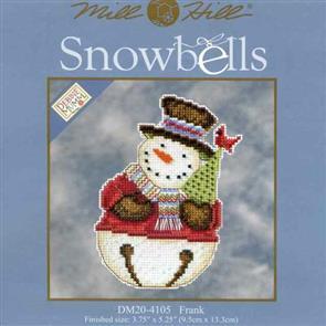 Mill Hill  Bead & Cross Stitch Kit: Snowbells Frank