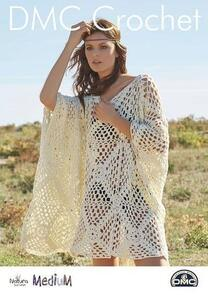 DMC Draped Top Cover Up Crochet Pattern