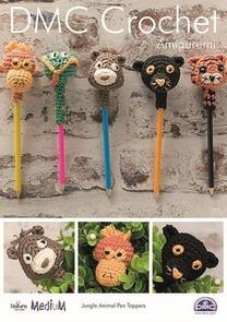 DMC Jungle Animal Pen Toppers Amigurumi Crochet Pattern