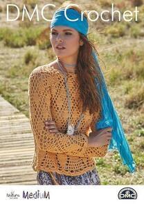 DMC  Long Sleeve Top Crochet Pattern