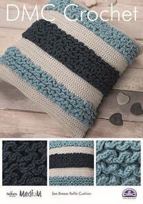 DMC  Sea Breeze Ruffle Cushion Crochet Pattern