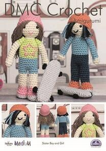 DMC Skater Boy and Girl Crochet Pattern