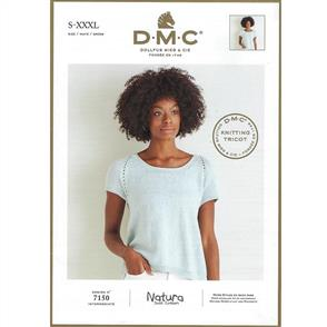 DMC 7150 - Top - Knitting Pattern