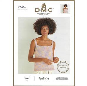 DMC  7152 - Strappy Top - Knitting Pattern