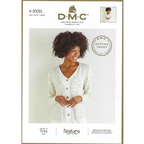 DMC 7154 - Cardigan - Knitting Pattern