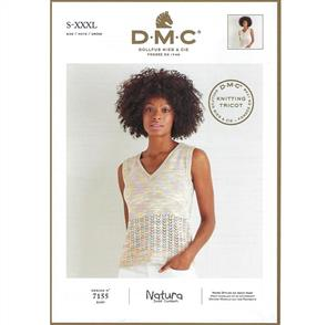 DMC 7155 - Top - Knitting Pattern