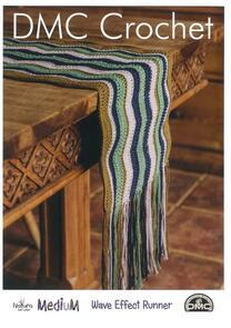 DMC  ave Effect Runner Crochet Pattern