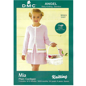 DMC Angel - Knitting Pattern - Mia