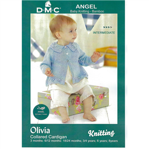 DMC  Angel - Knitting Pattern - Olivia