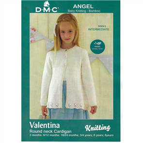 DMC Angel - Knitting Pattern - Valentina