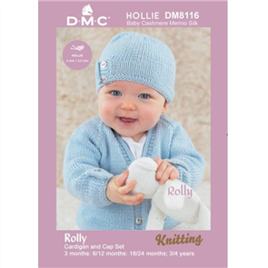 DMC  Hollie - Knitting Pattern - Rolly