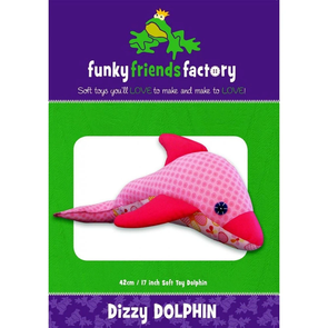 Funky Friends Factory Dizzy Dolphin Toy Sewing Pattern