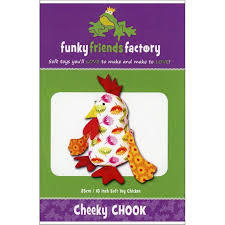 Funky Friends Factory Cheeky Chook Toy Sewing Pattern