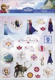 MISC  Disney Frozen Stickers - 2 Sheets