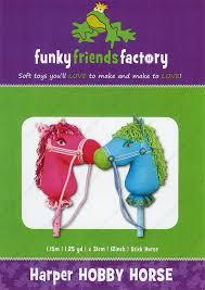 Funky Friends Factory Harper Hobby Horse Toy Sewing Pattern