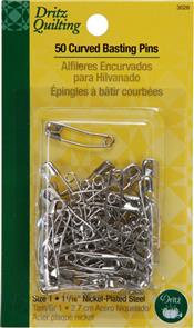 Dritz  Curved Basting Pins Size 1