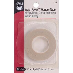 Dritz Wash-Away - Wonder Tape - 1/4in x 10yds