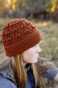 Lisa F  Honey Cakes HC42 Seraphina Hat Knitting Pattern