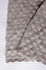 Lisa F  Baby Cakes BC95 Sweet Heart Blanket Knitting Pattern