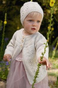 Lisa F Baby Cakes BC103 Trinity Jacket and Hat Knitting Pattern