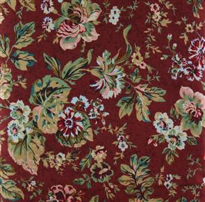 David Textiles  - Autumn Florals - Burgundy