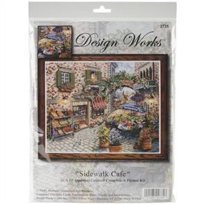 Design Works  Cross Stitch Kit: Sidewalk Cafe