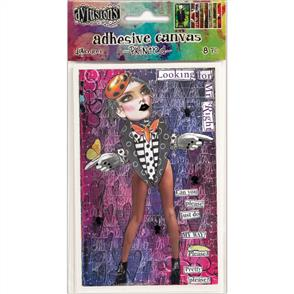 Ranger Ink  Dyan Reaveley's Dylusions - Adhesive Canvas - Set #2