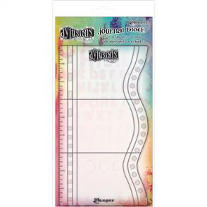 "Ranger Ink  Dyan Reaveley's Dylusions Journaling Block 9""X5"" - #2"