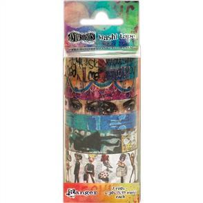 Ranger Ink Dyan Reaveley's Dylusions Washi Tape Set #2-7 Rolls