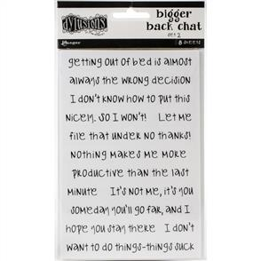 Ranger Ink Dylusions - Bigger Back Chat Stickers